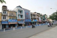 Hue street view in Vietnam Royalty Free Stock Photos
