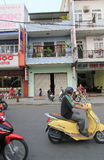 Hue street view in Vietnam Stock Photography