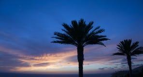 Hue Sunset - Dana Point blu 2 Fotografia Stock Libera da Diritti