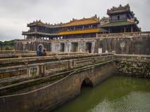 Hue Vietnam - Hue Citadel in Vietnam. Hue Vietnam December 2018 - Hue Citadel in Vietnam royalty free stock photography