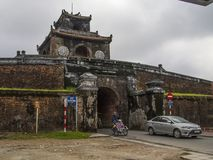 Hue - Vietnam - Gate of Hue Citadel royalty free stock image