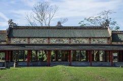 Hue, Vietnam. Inside the citadel. Imperial Forbidden City. Hue, Vietnam Stock Image