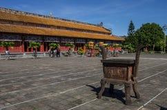 Hue, Vietnam. Inside the citadel. Imperial Forbidden City. Hue, Vietnam Stock Images