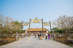 Hue, Vietnam Mar 15:: The Royalty Free Stock Photography