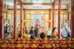 Hue, Vietnam Mar 15:: inside of The Royalty Free Stock Photography