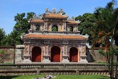Hue in Vietnam. Old emporer town hue in vietnam Stock Photos