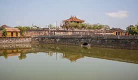The amazing Old Town of Hue, Vietnam royalty free stock photo