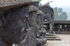 Hue, Vietnam: Royal Tomb Stock Photo