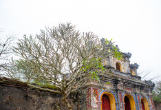 Hue, Vietnam. A section of the emperor citadel, Hue, Vietnam royalty free stock images