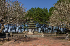 Hue, Vietnam: Thien Mu Pagoda Stock Image
