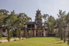 Hue, Vietnam: Thien Mu Pagoda. Royalty Free Stock Images