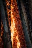 Hueco ardiente Imagen de archivo libre de regalías