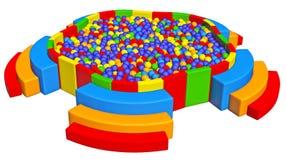 Hueco de la bola Imagen de archivo libre de regalías
