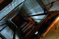 Hueco del elevador imagenes de archivo