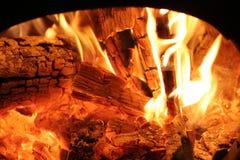 Hueco del fuego Foto de archivo