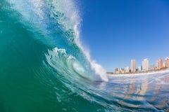 Hueco Durban interior de la onda imágenes de archivo libres de regalías