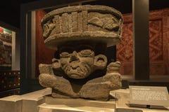 Huehueteotl - бог огня стоковая фотография rf