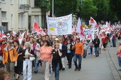 huelga Foto de archivo