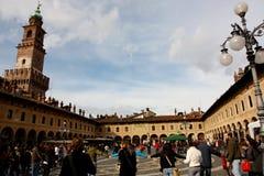 Huelga de la escuela en Italia Imagenes de archivo