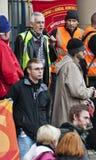 Huelga de las pensiones de Sheffield Foto de archivo