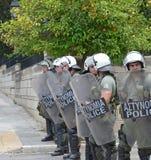 Huelga en Athenes. Grecia Imagen de archivo libre de regalías