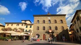 Huelga en ayuntamiento Chianti Imagen de archivo libre de regalías