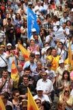 Huelga pública turca de los trabajadores Fotos de archivo libres de regalías