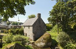 Beautiful watermill in Huelgoat, Brittany, France Stock Photography