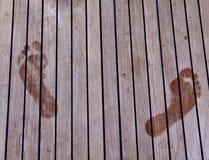 Huella Foto de archivo