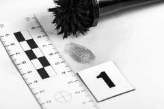 Huella dactilar Fotografía de archivo libre de regalías