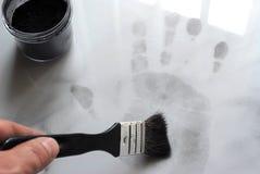 Huella dactilar Imagen de archivo libre de regalías