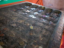 Huella de Buda Fotos de archivo