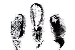 Huella digital. Fotografía de archivo