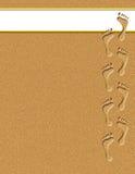 Huellas en la ilustración de la arena Imagen de archivo