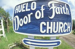 Huelo Door of Faith Church in Hawaii Stock Photography