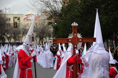Holy Week on Easter Monday Stock Images