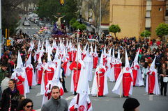 Holy Week on Easter Monday, Andalusia, Spain Royalty Free Stock Image