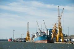 Huelva harbor Stock Image