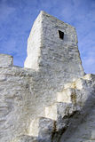 The Huer's Hut at Newquay, Land's End, Cornwall Royalty Free Stock Images