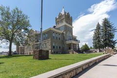 Huerfano County Courthouse. Historic Huerfano County courthouse in Walsenburg, Colorado Stock Images