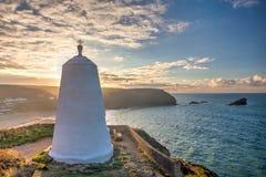 Huers Hut Portreath Cornwall England Royalty Free Stock Photo
