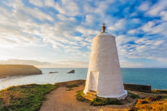 Huers Hut Portreath Cornwall England Royalty Free Stock Photo
