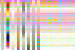 Hues stripes Stock Images