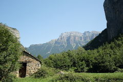 Huesca τοπία Στοκ φωτογραφία με δικαίωμα ελεύθερης χρήσης