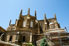 Huesca Cathedral - Spain Royalty Free Stock Photo