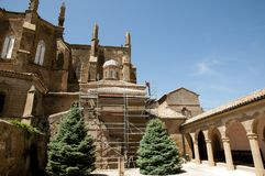 Huesca Cathedral - Spain Stock Photography