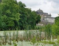 Hueso medieval del castillo Foto de archivo