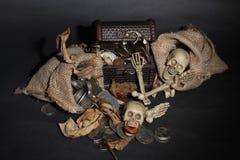 Hueso que guarda el tesoro Imágenes de archivo libres de regalías