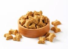 Huesos de la galleta de perro Foto de archivo libre de regalías