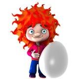 Huevo stock de ilustración